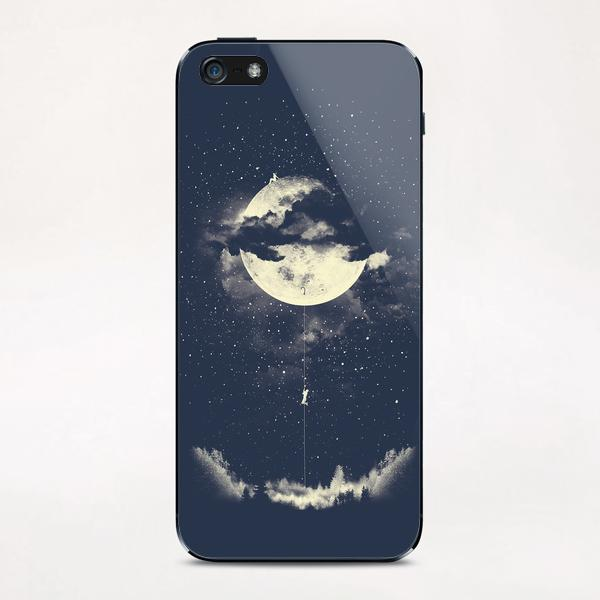 MOON CLIMBING iPhone & iPod Skin by Miro Zatkuliak