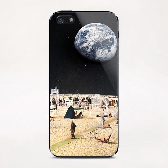Moonlidays iPhone & iPod Skin by tzigone