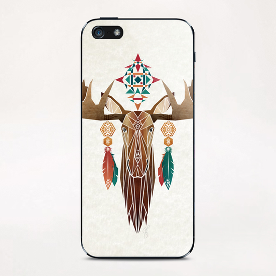 moose iPhone & iPod Skin by Manoou