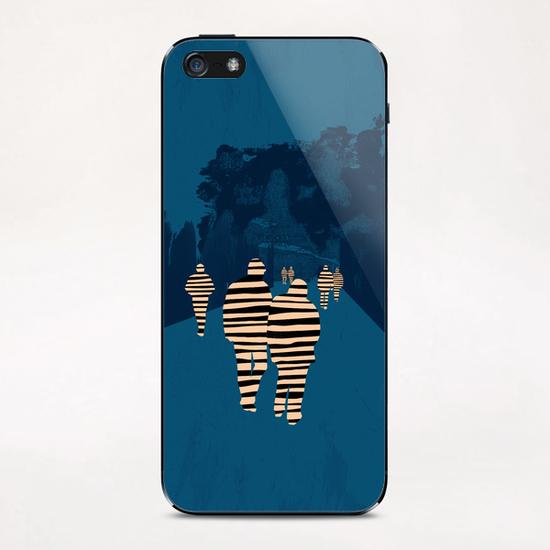 walking for oblivion iPhone & iPod Skin by junillu