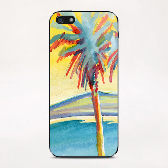 Palm Tree on the French Riviera iPhone & iPod Skin by Georgio Fabrello