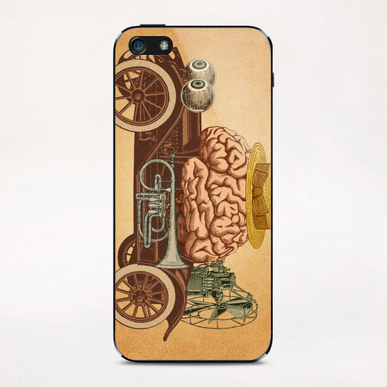 Intelligen Car iPhone & iPod Skin by Pepetto