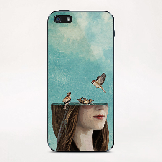 Bathers iPhone & iPod Skin by Seamless