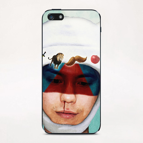 adventurous mind iPhone & iPod Skin by Seamless