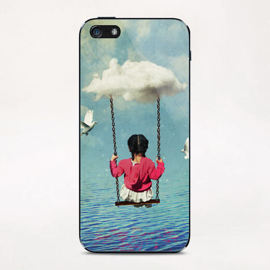 the traveler iPhone & iPod Skin by Seamless