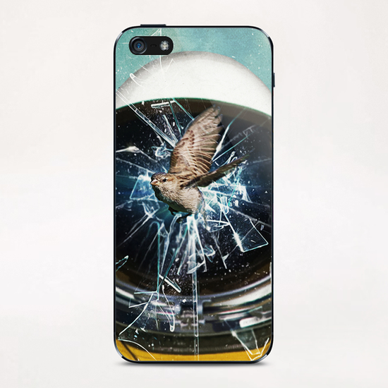 the escape 2 iPhone & iPod Skin by Seamless