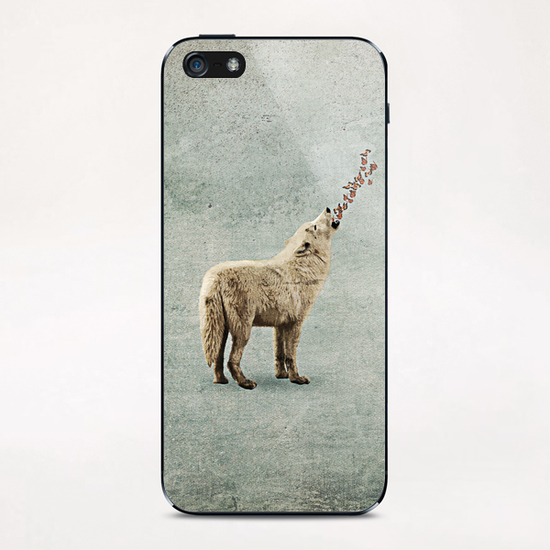 Howl iPhone & iPod Skin by Seamless