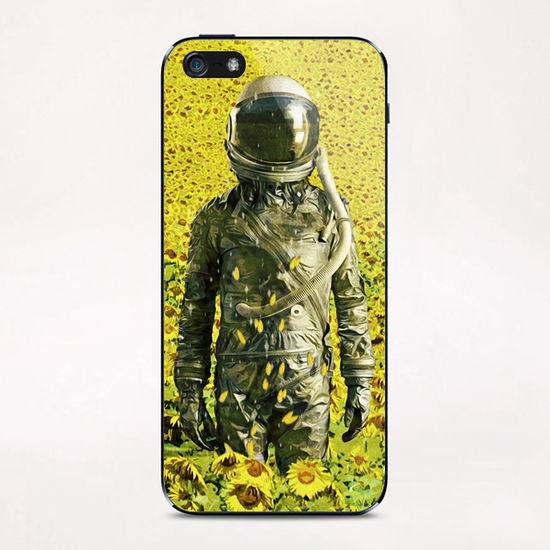 Stranded in the sunflower field iPhone & iPod Skin by Seamless