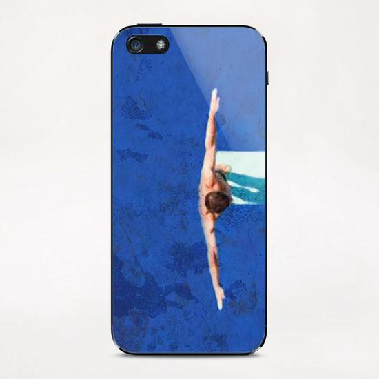 Le Plongeoir iPhone & iPod Skin by Malixx