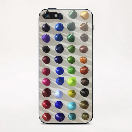 Color Points iPhone & iPod Skin by Ivailo K