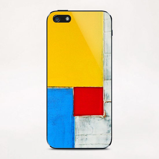 Red Square iPhone & iPod Skin by Pierre-Michael Faure