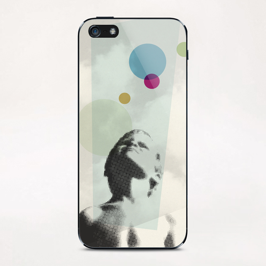 Regard iPhone & iPod Skin by Vic Storia