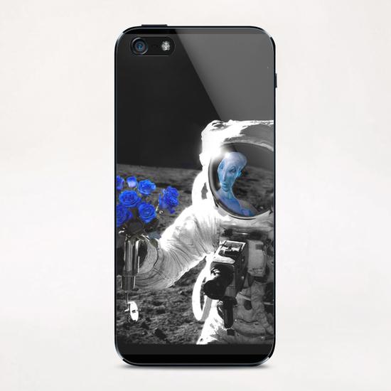 Intersideral Love iPhone & iPod Skin by tzigone