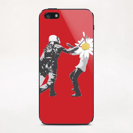 Flower Riot iPhone & iPod Skin by tzigone
