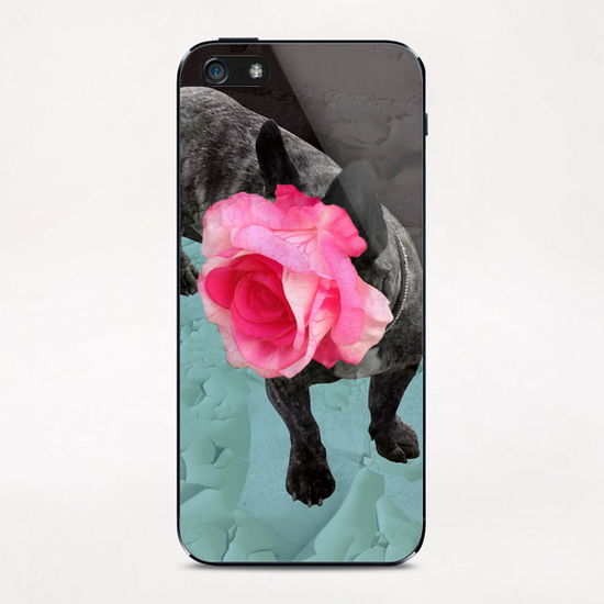 Romantic French Bulldog iPhone & iPod Skin by Ivailo K