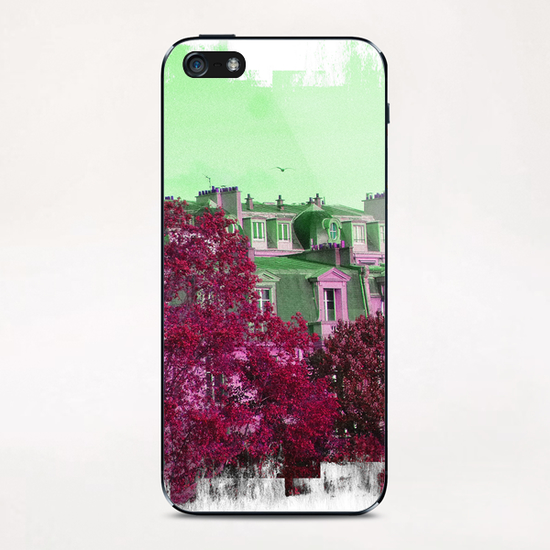 Roofs in Montmartre iPhone & iPod Skin by Malixx