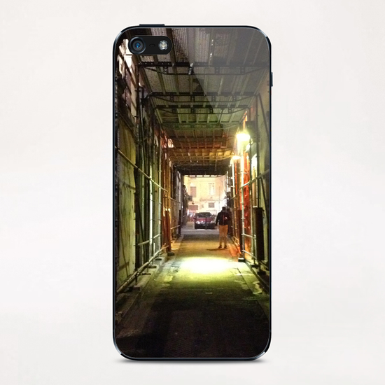 Ruelle de Lyon iPhone & iPod Skin by Ivailo K