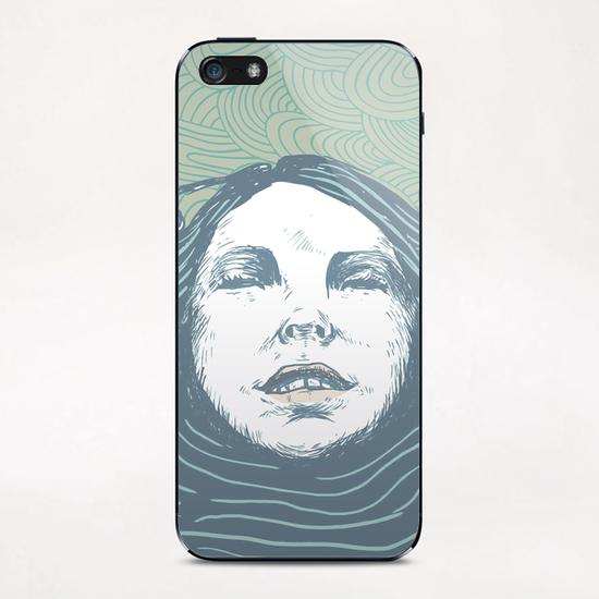 Sea-face iPhone & iPod Skin by tzigone