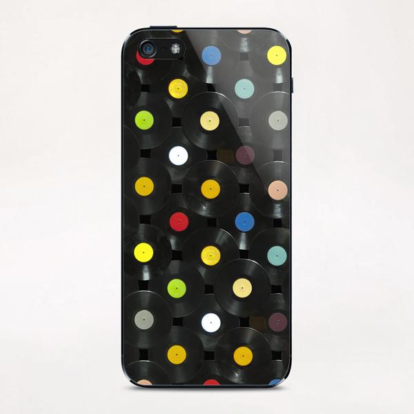 Serial Disker iPhone & iPod Skin by di-tommaso