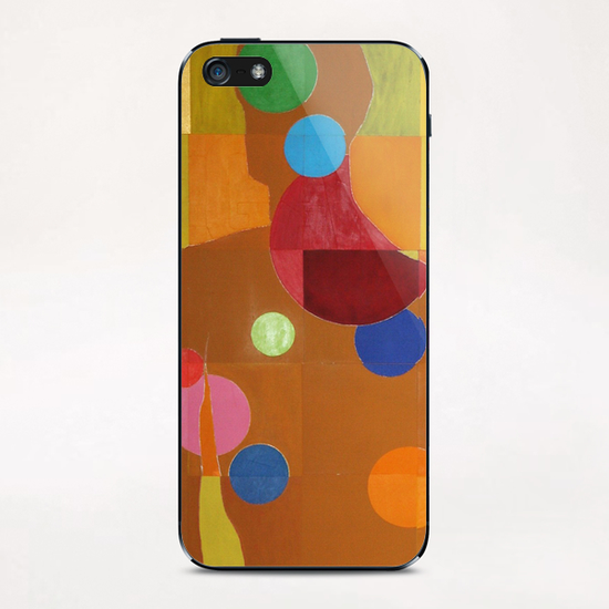 Silhouette iPhone & iPod Skin by Pierre-Michael Faure
