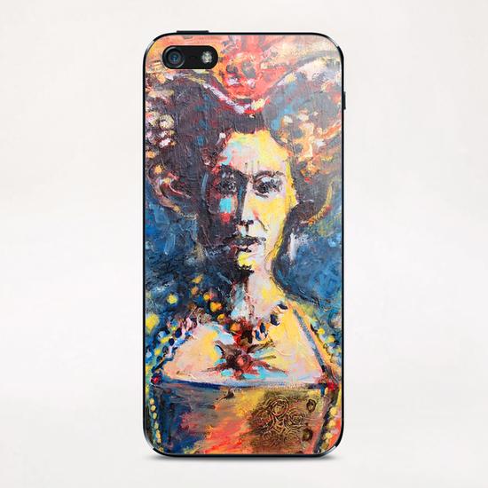 Solar Queen iPhone & iPod Skin by Georgio Fabrello