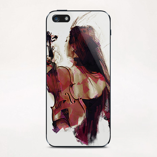 Violin iPhone & iPod Skin by Galen Valle