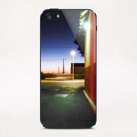 Sunset in L.A. iPhone & iPod Skin by Vic Storia