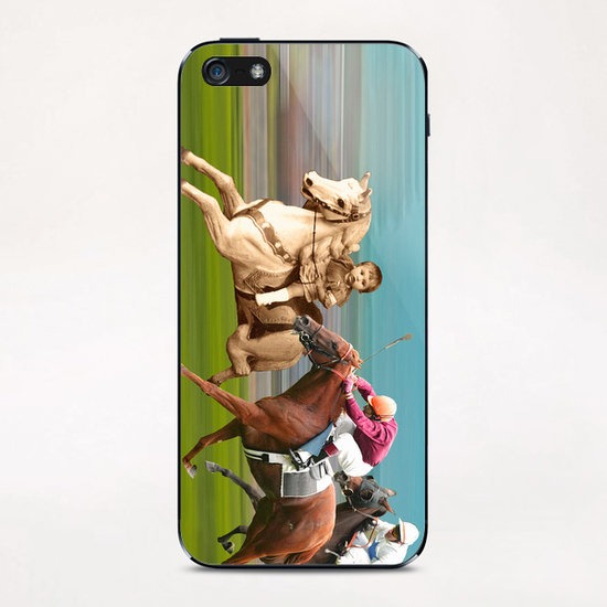 The Race iPhone & iPod Skin by tzigone