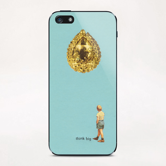 think big iPhone & iPod Skin by livingferal aka tracy jager
