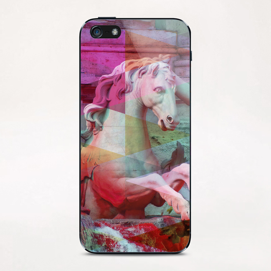 Trevi Fountain iPhone & iPod Skin by Vic Storia