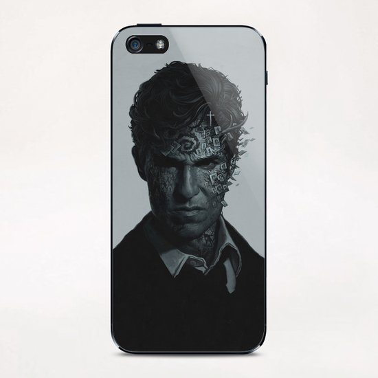 True Detective iPhone & iPod Skin by yurishwedoff