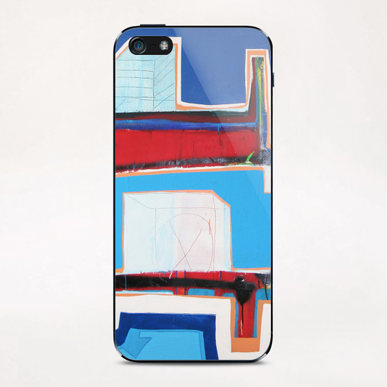 City iPhone & iPod Skin by Pierre-Michael Faure