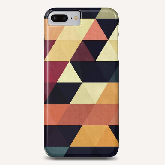 Pattern cosmic triangles Phone Case by Vitor Costa