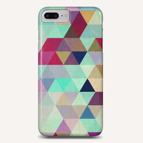 Pattern cosmic triangles II Phone Case by Vitor Costa
