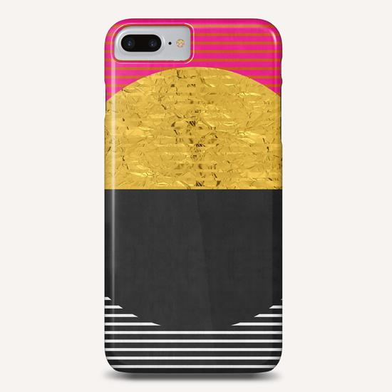Geometric and golden art Phone Case by Vitor Costa