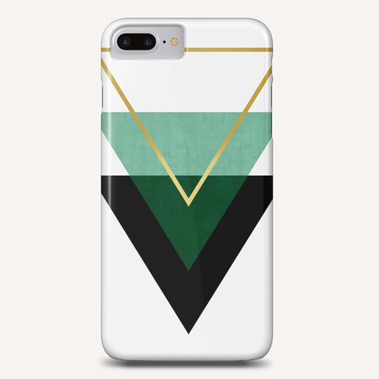 Geometric and golden art I Phone Case by Vitor Costa