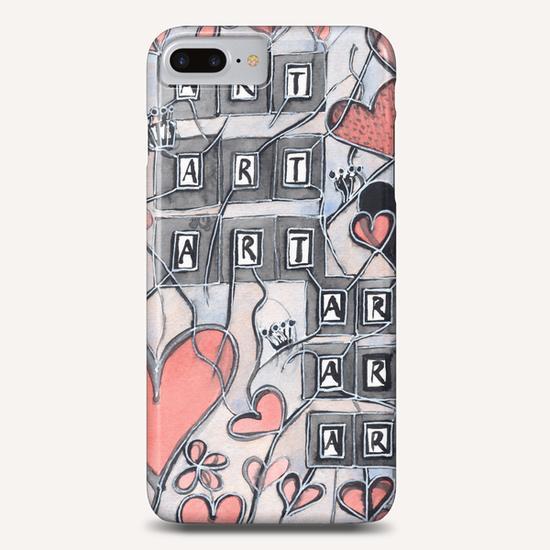 I Love Art  Phone Case by Heidi Capitaine