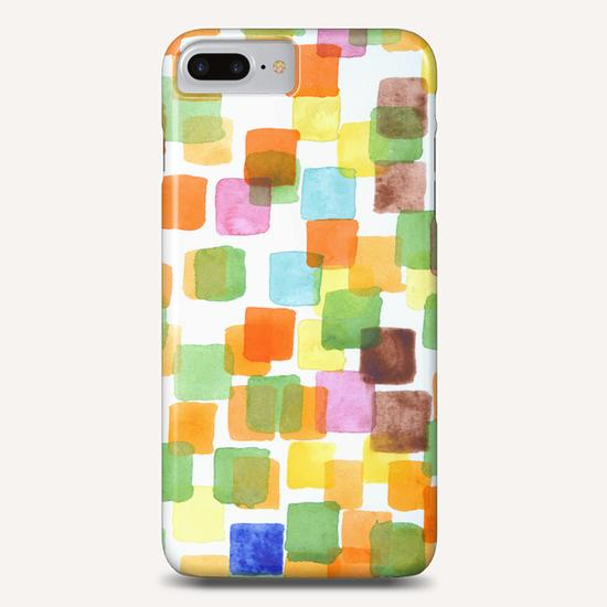 First Squares Pattern Phone Case by Heidi Capitaine