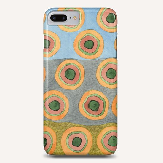 Circles in Front of the Beach  Phone Case by Heidi Capitaine