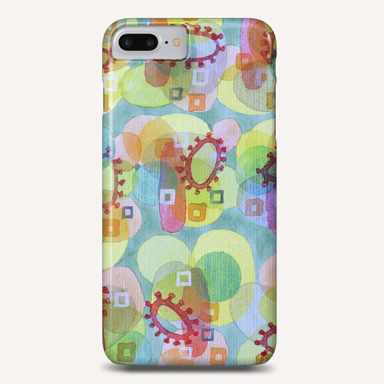 Lovely Pattern with Red Rings  Phone Case by Heidi Capitaine
