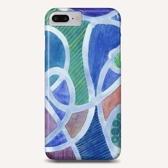 Curved Paths Phone Case by Heidi Capitaine