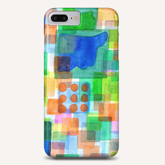 Playful Squares  Phone Case by Heidi Capitaine