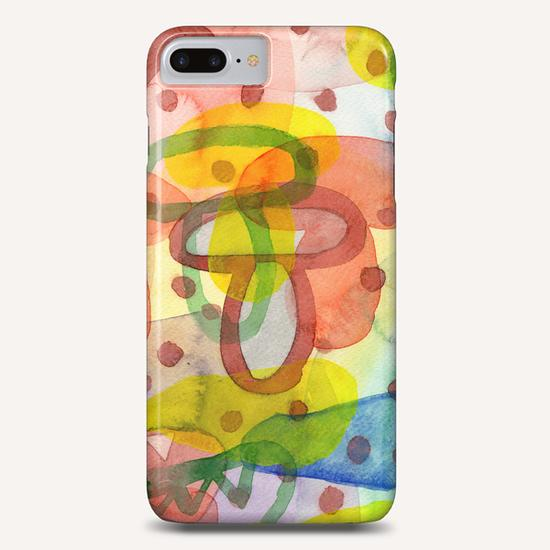 Blurry Mushroom and other Things  Phone Case by Heidi Capitaine