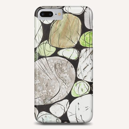 Classical Stones Pattern in High Format Phone Case by Heidi Capitaine