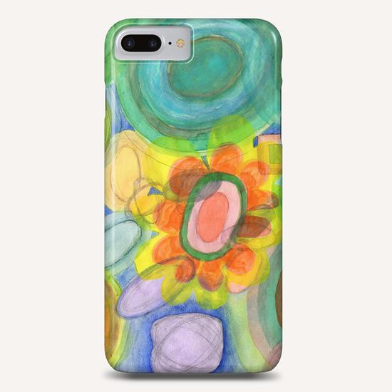 A closer Look at the Flower  Universe  Phone Case by Heidi Capitaine
