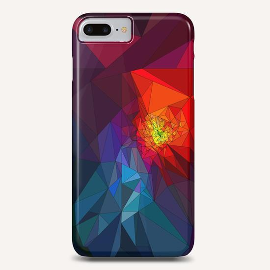 Colorful Triangles Phone Case by PIEL Design