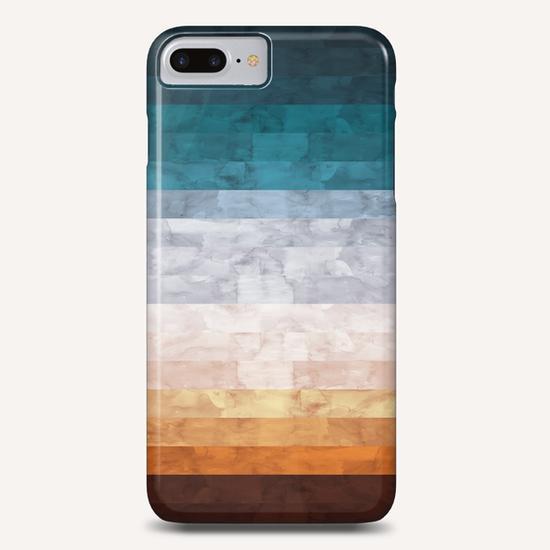 Minimalist landscape watercolor Phone Case by Vitor Costa