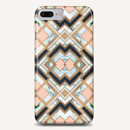 Art deco geometric pattern Phone Case by mmartabc