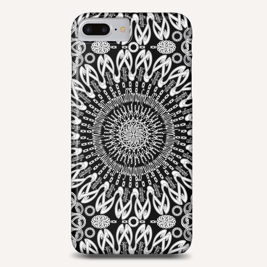 Calligraphy (Black&White) Phone Case by vannina