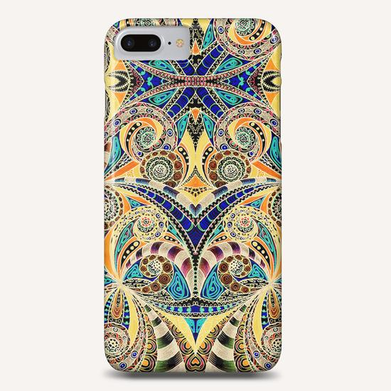 Drawing Floral Zentangle G1 Phone Case by MedusArt